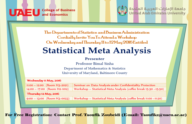 Statistical Meta Analysis